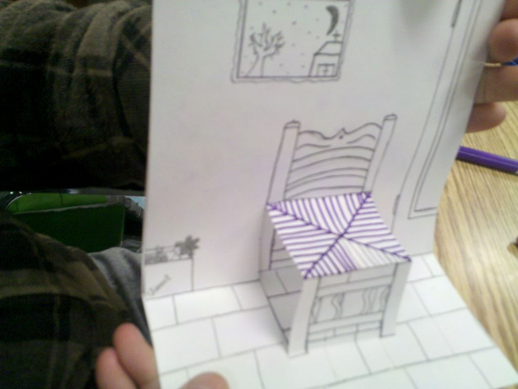Art With Mrs Smith Van Gogh Chair 3d