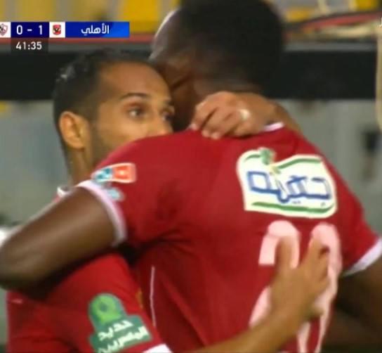 اهداف مباراة الاهلي والزمالك في الدور الثاني للدوري المصري 2017