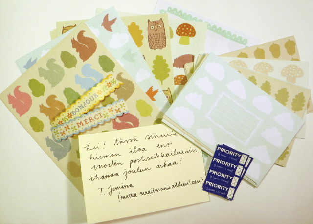 Cute animal and nature stationery