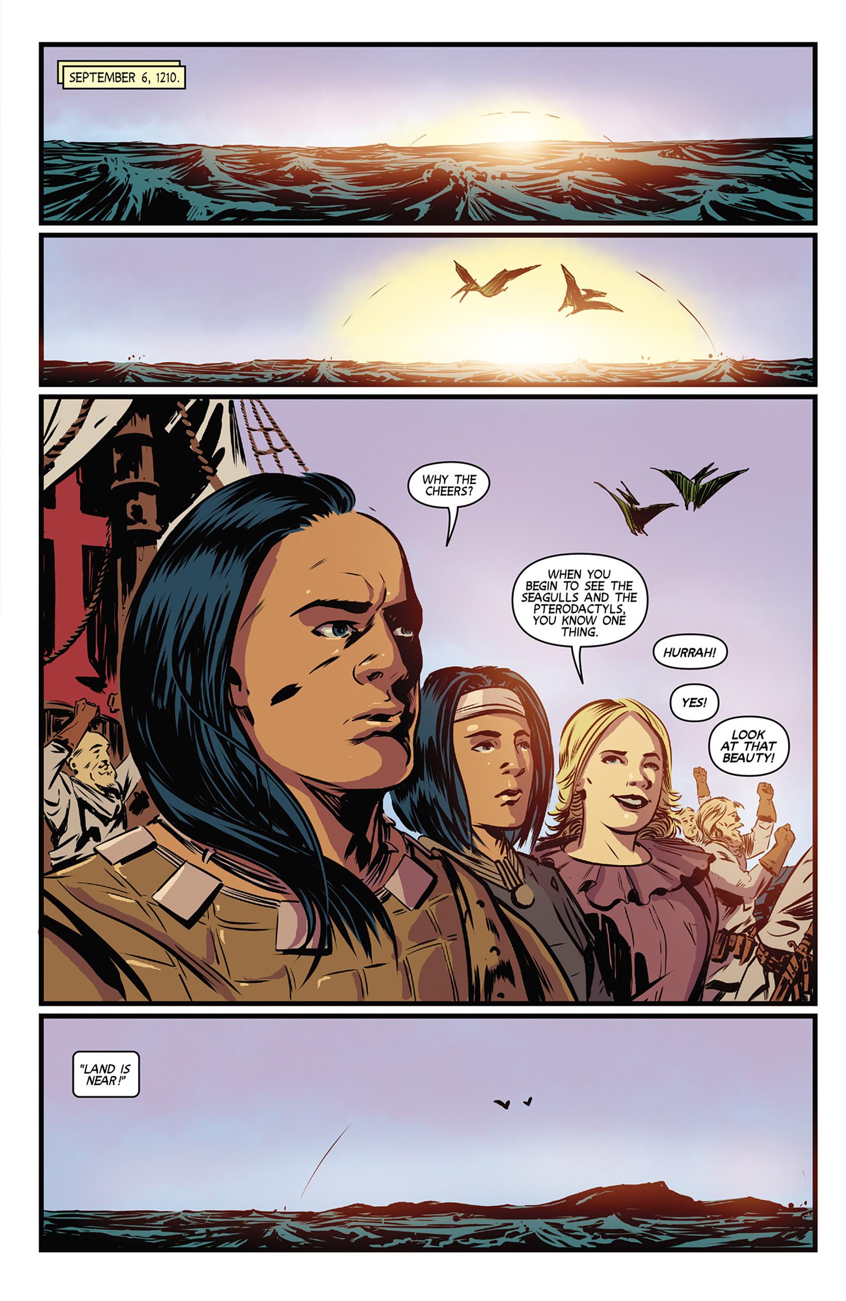 Read online Turok: Dinosaur Hunter (2014) comic -  Issue #9 - 21