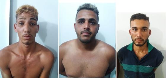 BEPI prende três delinquentes acusados de jogar pedras em veículos, entre Palmares e Joaquim Nabuco