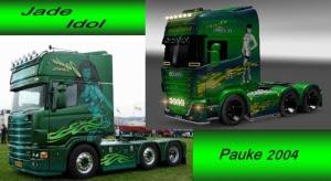Scania Jade Idol v1 Skin
