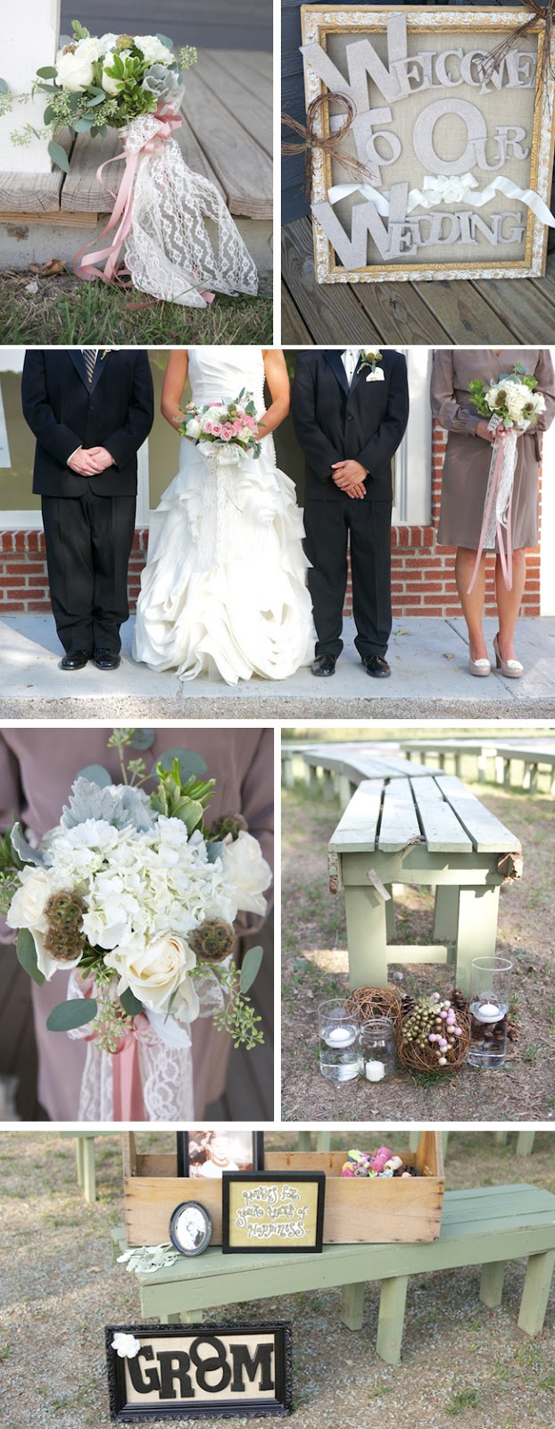 Pink DIY Kansas wedding by Amanda Perry Photography