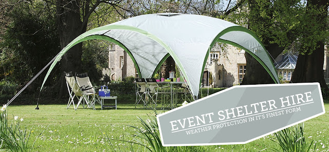 Event Shelter Hire - Coleman - Complete Outdoors