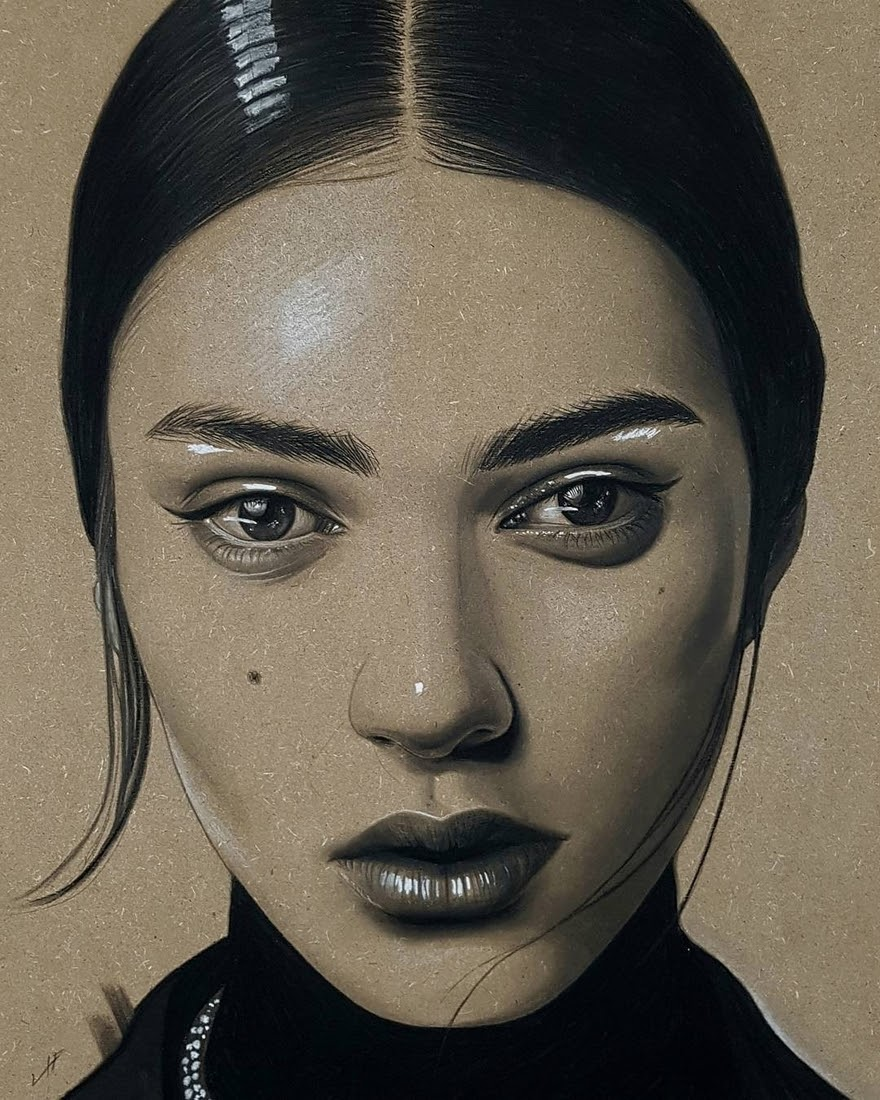14-Husam-Waleed-Minimalist-Realistic-and-Stylized-Charcoal-Portraits-www-designstack-co
