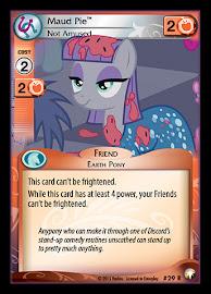 My Little Pony Maud Pie, Not Amused Equestrian Odysseys CCG Card
