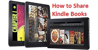How to Share and loan kiamazon kindle books