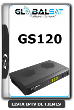Globalsat GS120 Nova Atualização Melhorias SKS, IKS e VOD ON V2.53 - 16-02-2020