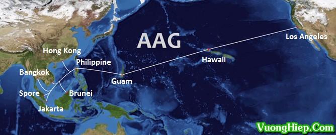 Cáp quang biển AAG gặp sự cố, dự kiến cuối tháng 3 mới sửa xong