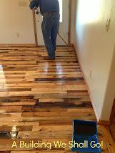 Building Art Of Pallet Wood Flooring