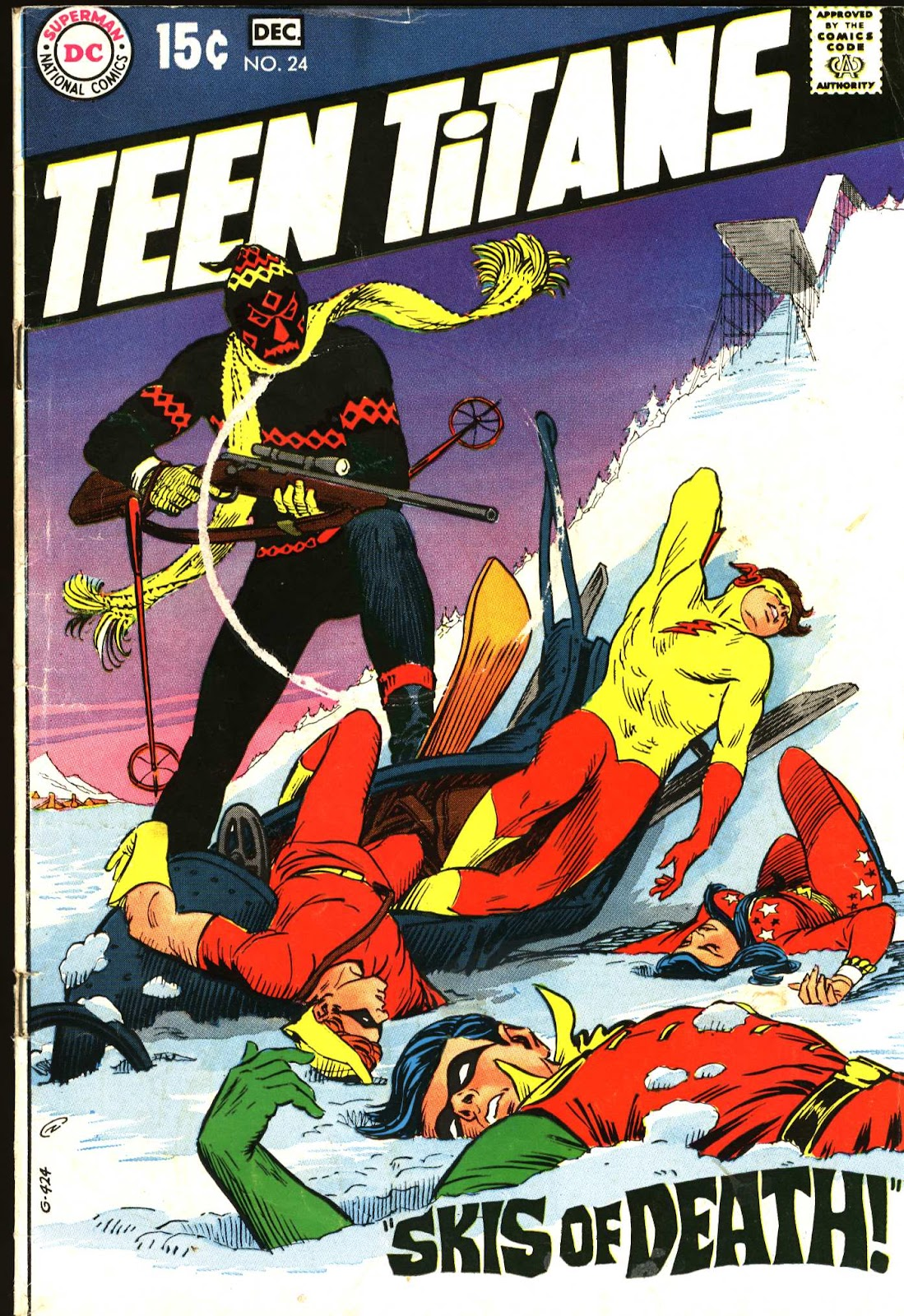 Teen Titans (1966) issue 24 - Page 1