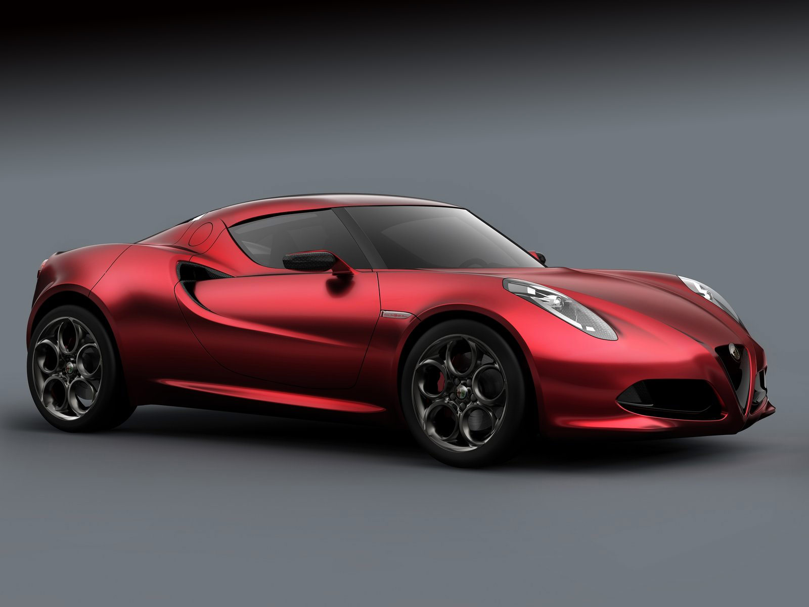 2011 alfa romeo 4c concept car desktop wallpapers. Black Bedroom Furniture Sets. Home Design Ideas