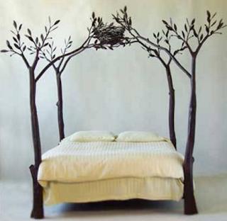 История кровати