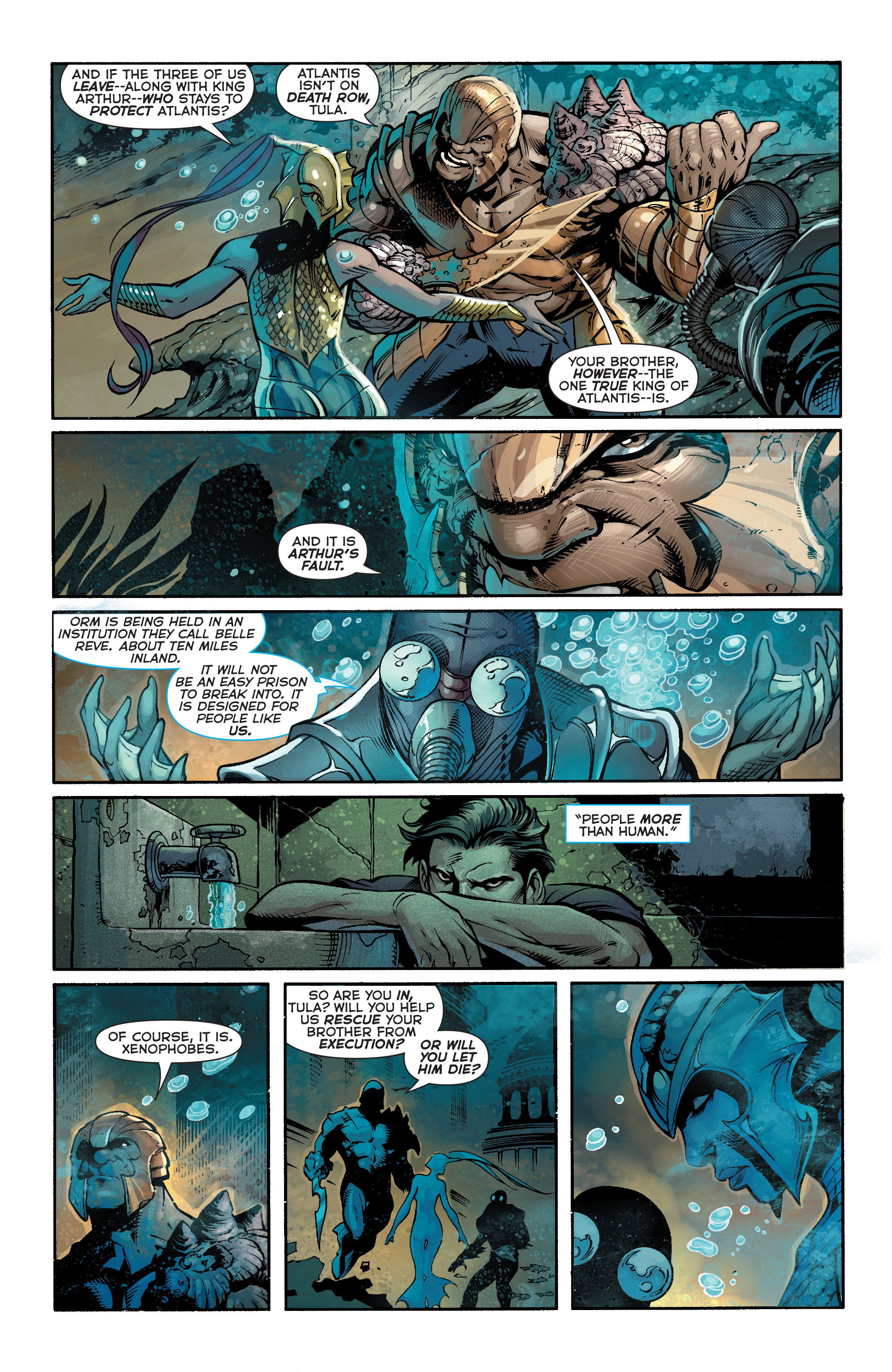 Read online Aquaman (2011) comic -  Issue #21 - 14