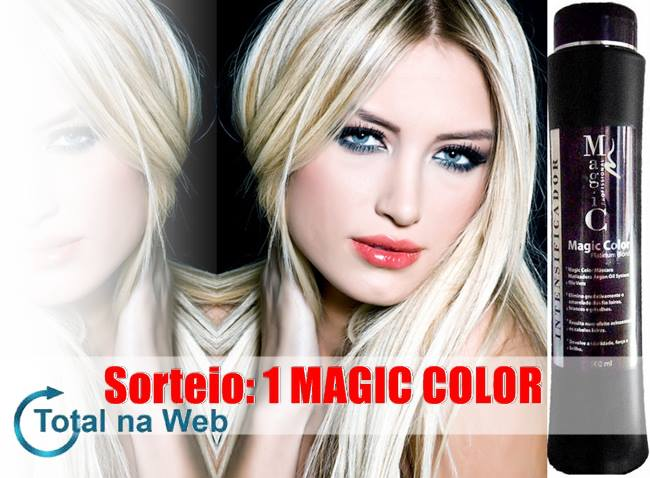 Resultado do Sorteio: Magic Color!