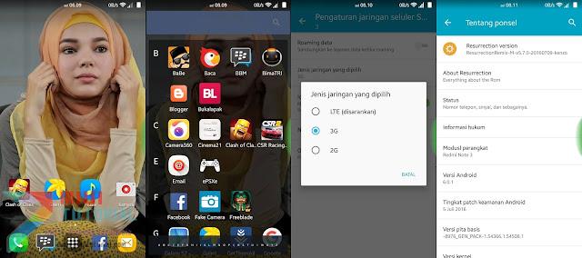 Bosan dengan Official Rom Miui Xiaomi Redmi Note 3 PRO Coba Custom Rom Resurrection Remix Ini + 4G Ready