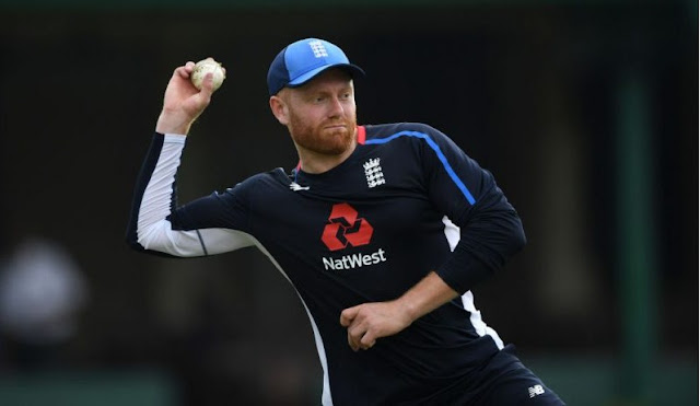 Britain's Bairstow out of fourth ODI after damage
