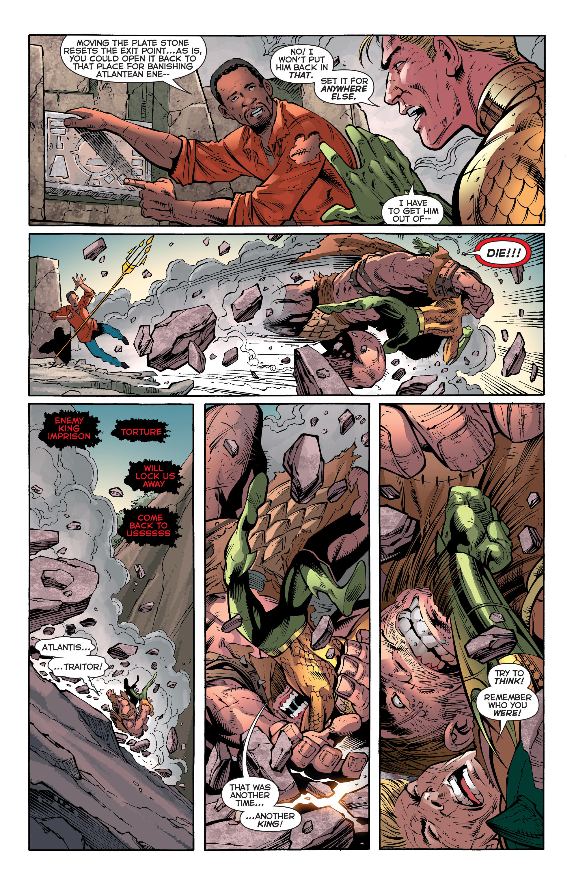 Read online Aquaman (2011) comic -  Issue #30 - 7