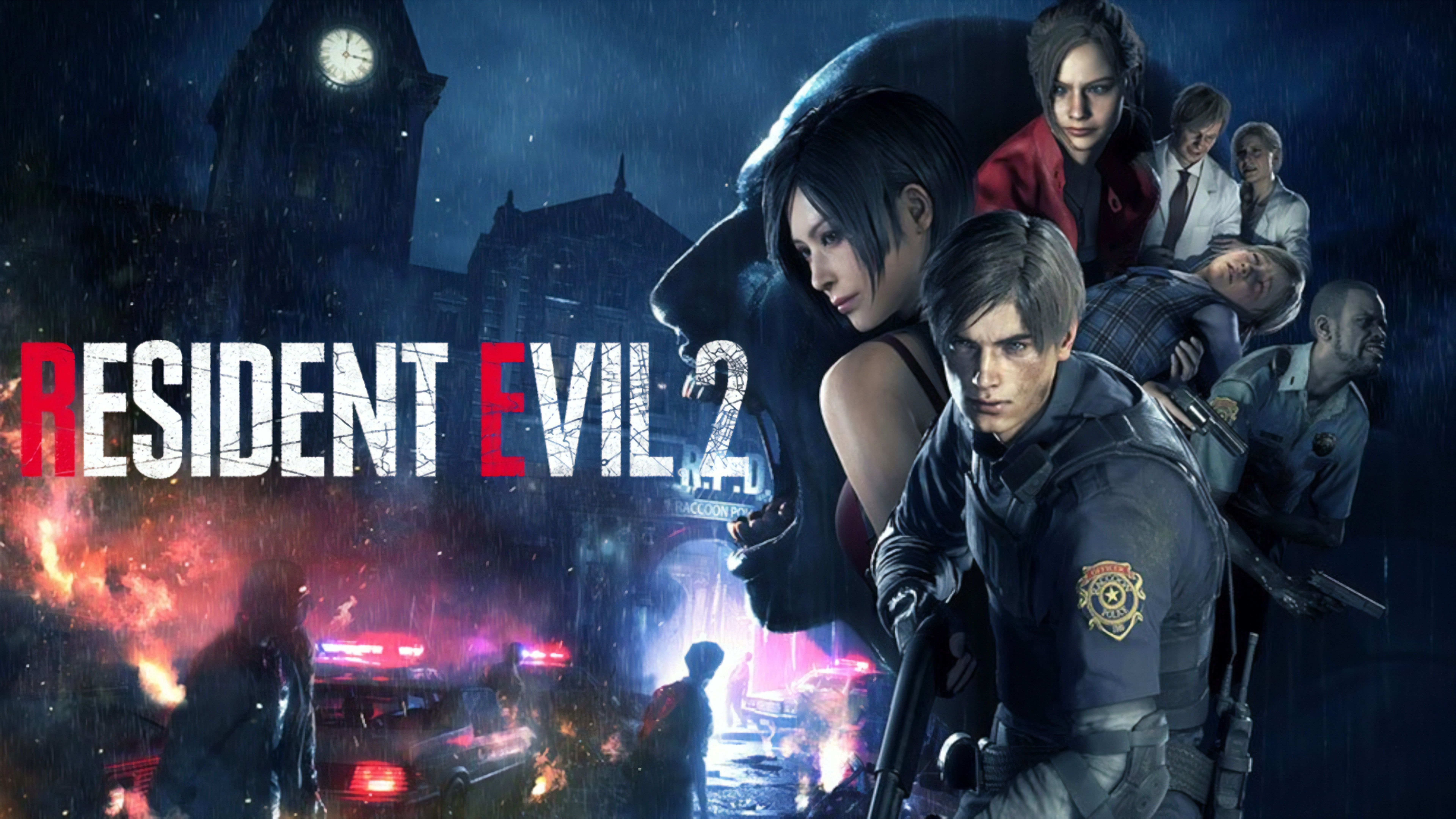 Resident Evil 2 Characters 8k Wallpaper 10