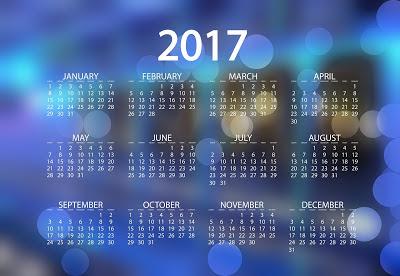 Happy New Year Calendar 2017 Download