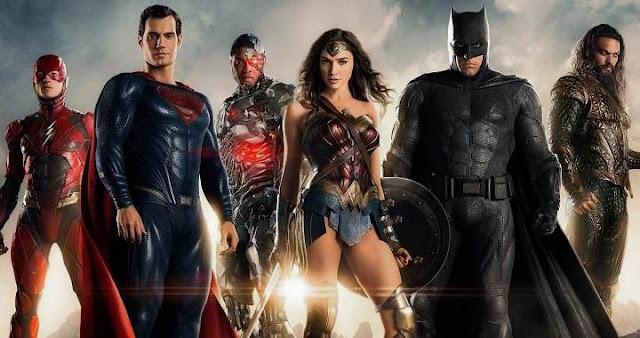 Reparto oficial para la película de Justice League