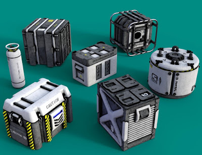 SciFi Crates and Containers Vol 2