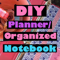 diy planner, diy notebook, diy organization, back to school diy, lauren banawa