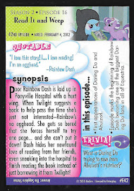 MLP Read It and Weep Series 3 Trading Card