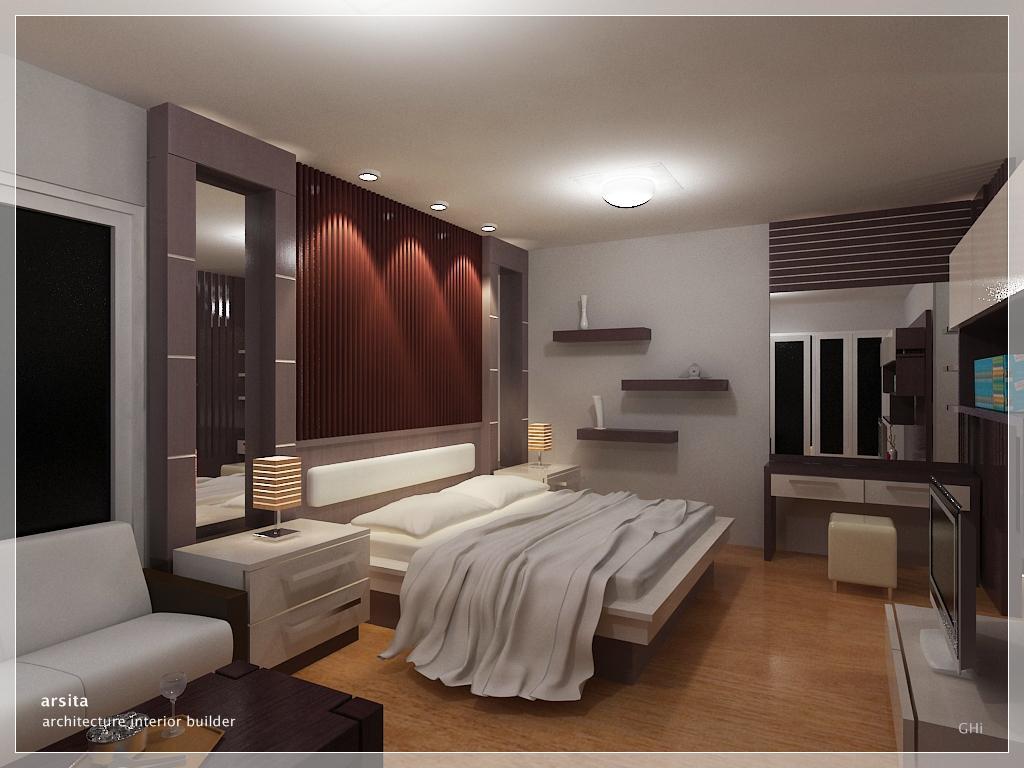 Model Desain Interior Kamar Tidur Utama - Rumah Minimalis