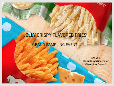 FREE Jollibee Crispy Flavored Fries on May 4