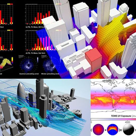 ecotect thiết kế bền vững, vật lý kiến trúc