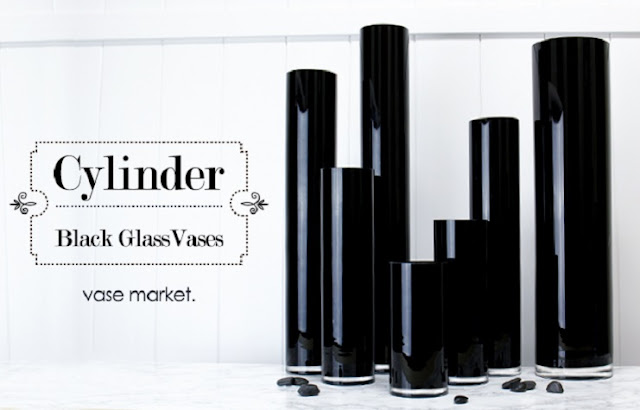 Black Glass Vases from Vase Market - Best Wholesale Prices