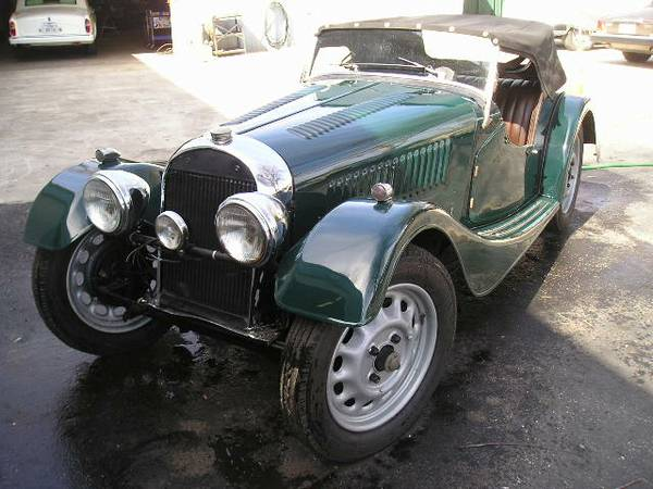 Vintage Roadster, 1948 Morgan 4/4 Flat Rad