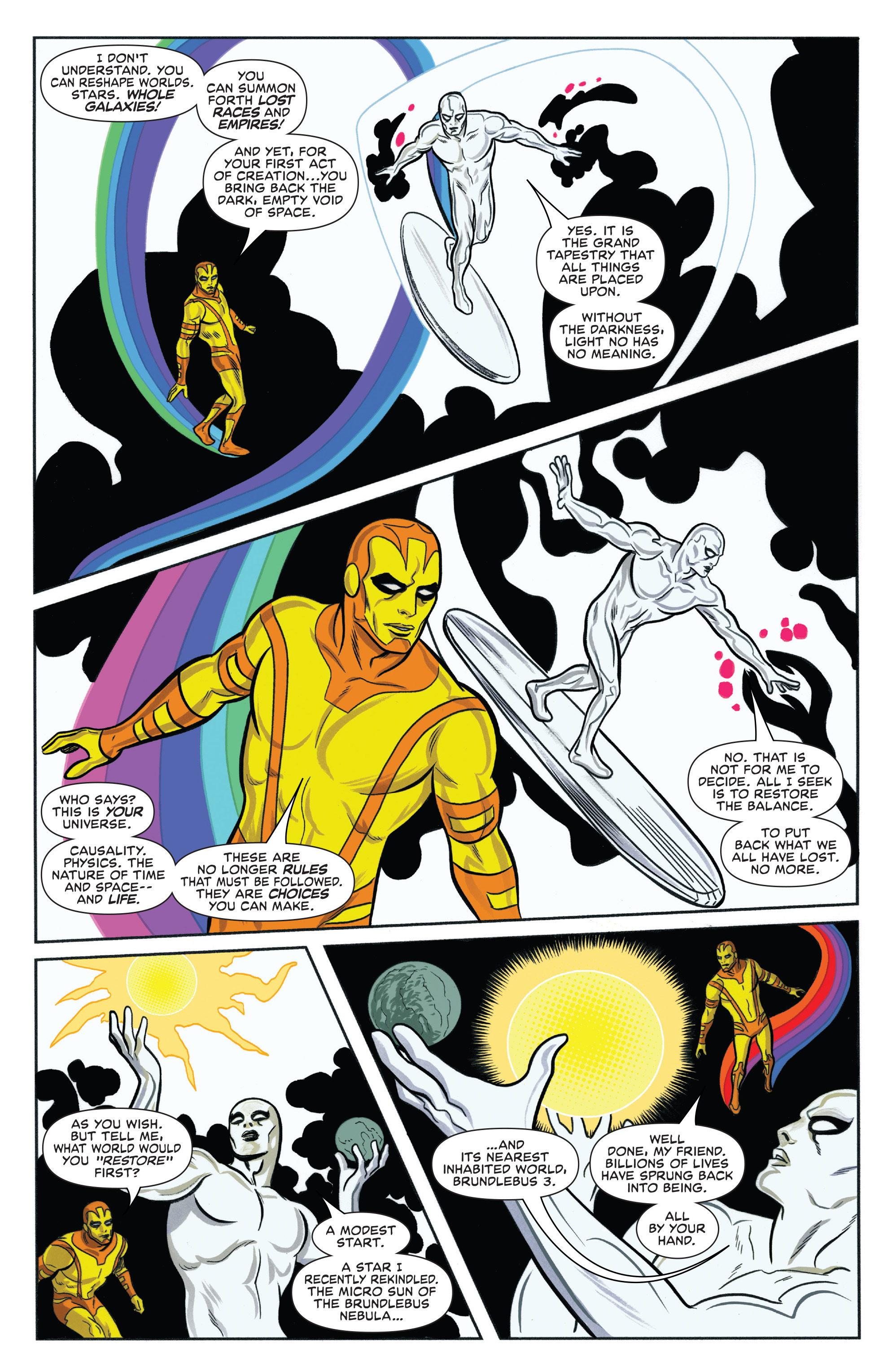 Read online Silver Surfer (2014) comic -  Issue #14 - 7
