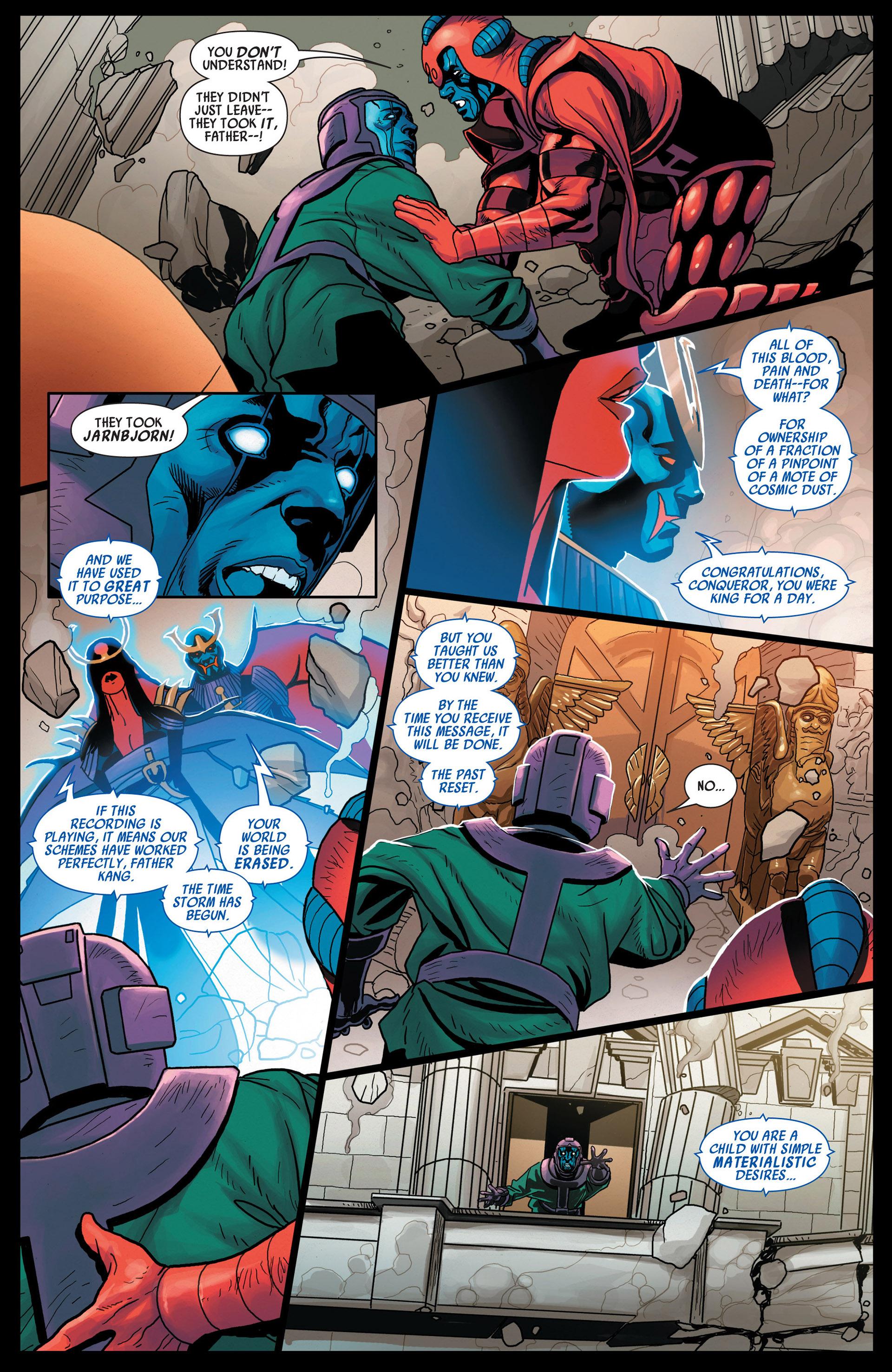 Read online Uncanny Avengers (2012) comic -  Issue #12 - 21