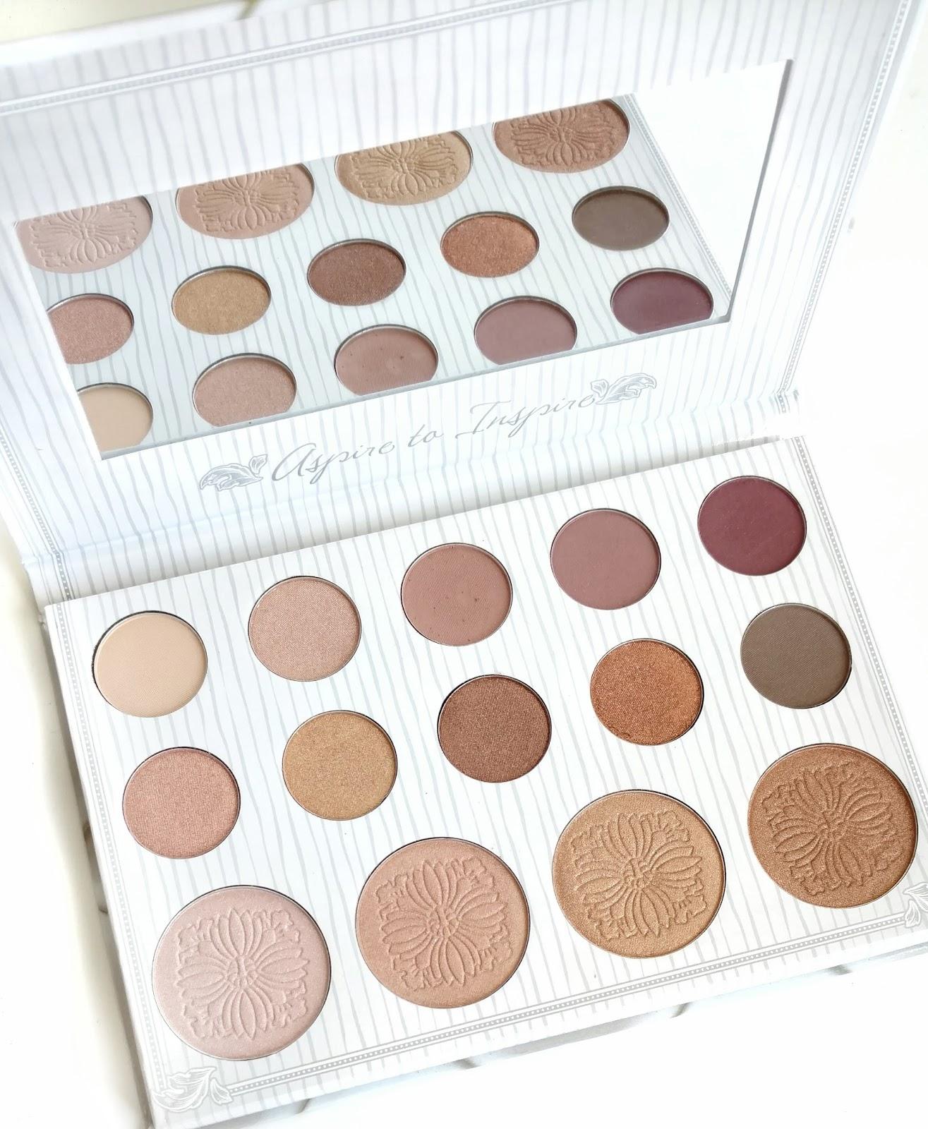 Carli Bybel Eyeshadown Palette Review