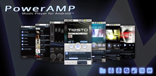 PowerAmp Aplikasi Pemuta Musik Android Terbaik