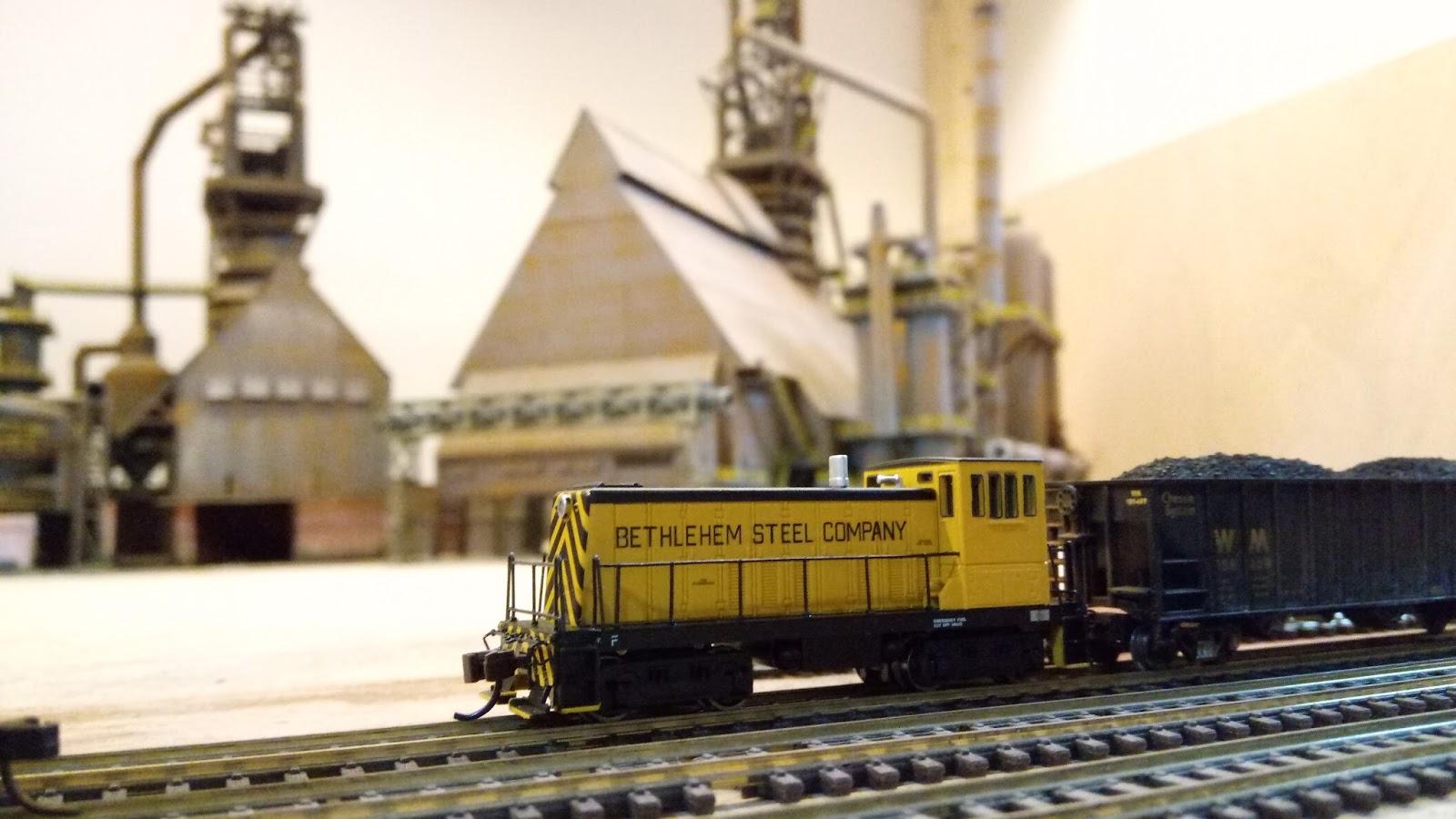 Custom N scale Steel mill - Page 7 - Model Train Forum - the