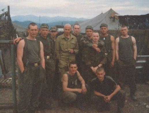 Урус-Мартан. Сводный отряд спецназа ГРУ. Весна 2001