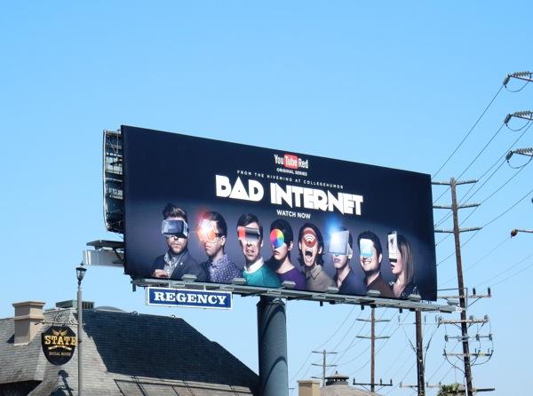Bad Internet YouTube Red billboard