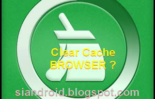 apa perlu bersihkan cache