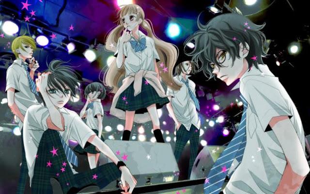 Fukumenkei Noise (Anonymous Noise) - Anime Romance School 2017 Terbaik