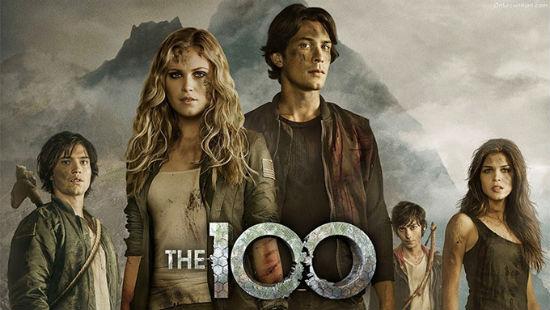 poster da série the 100