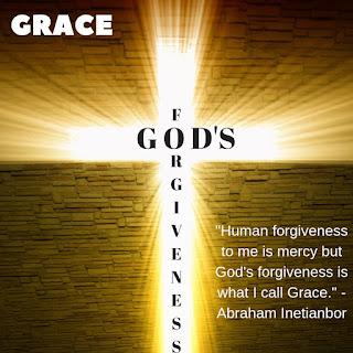 God's forgiveness is Grace