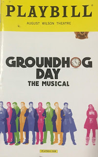 Groundhog Day Musical Playbill
