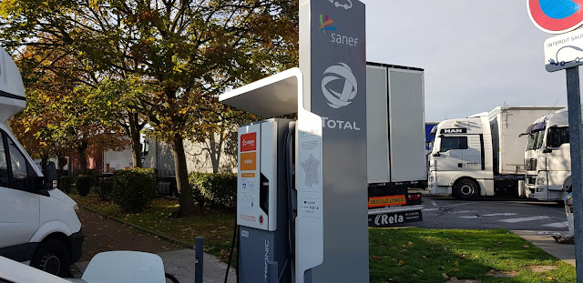 Fast charging in Aire de Phalimpin France