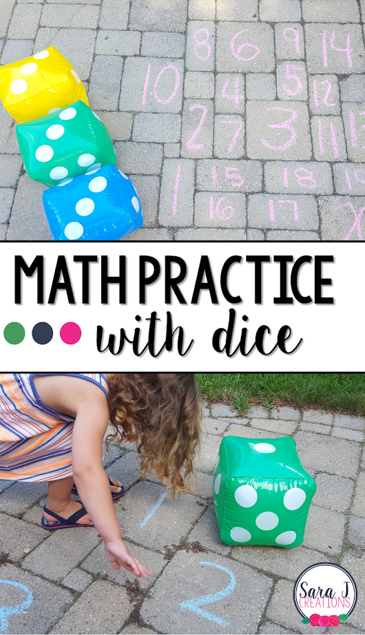 Number Practice with Dice