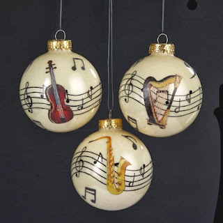 Music Themed Christmas Ornaments.My Top Music Themed Christmas Tree Decorations Themed