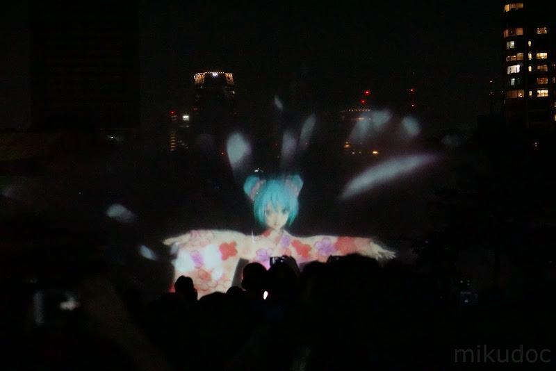 浴衣風初音ミク  刻をあそぶ時空の旅 ~初音ミク Links Tokyo150~より