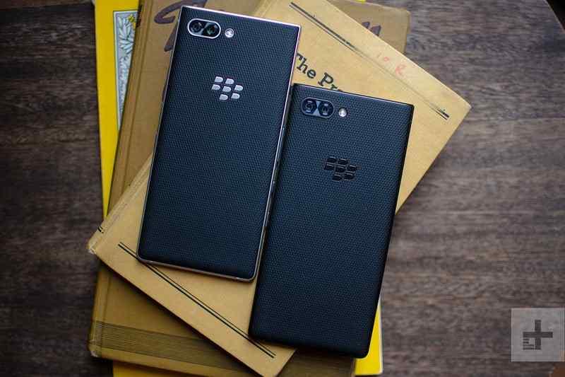 The Blackberry Key2 Smart Phones